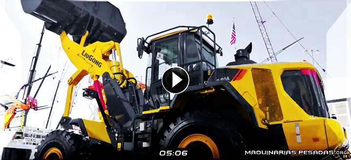 Vídeo de Cargador Frontal VL80A LiuGong de Levante Vertical - Detalles y Beneficios