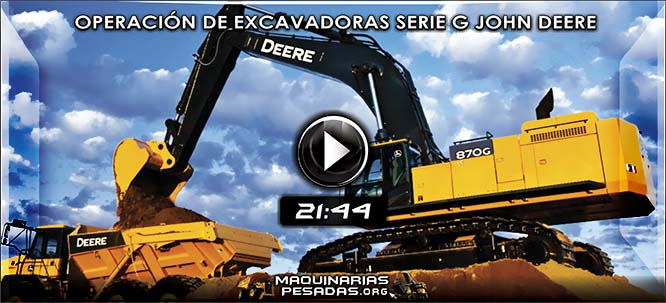 Vídeo de Controles de Operación de Excavadoras Serie G John Deere