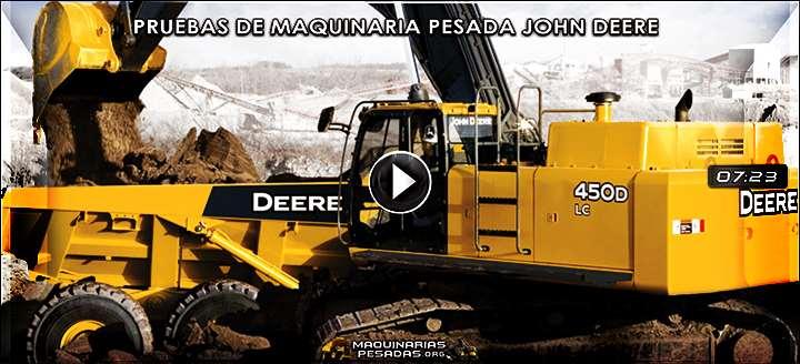 Vídeo de Demostraciones de Maquinaria Pesada John Deere – Pruebas y Beneficios