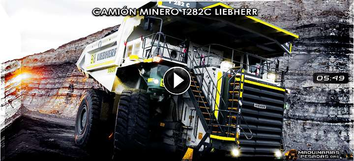 Vídeo Documental del Mega Camión Minero T282C Liebherr - Estructura e Ingeniería