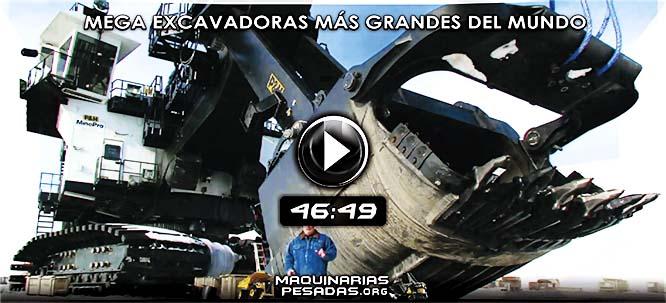 Vídeo Documental de las Mega Excavadoras más Grandes del Mundo