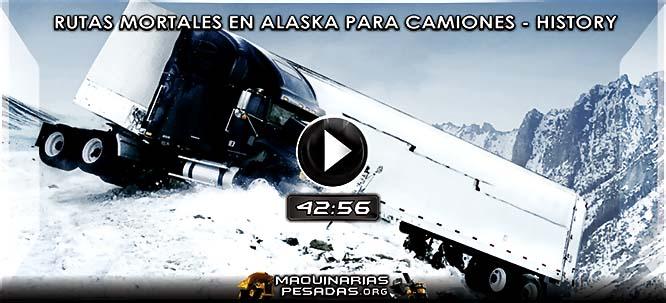 Vídeo Documental de Rutas Mortales para Camiones en Alaska - Caminos Peligrosos