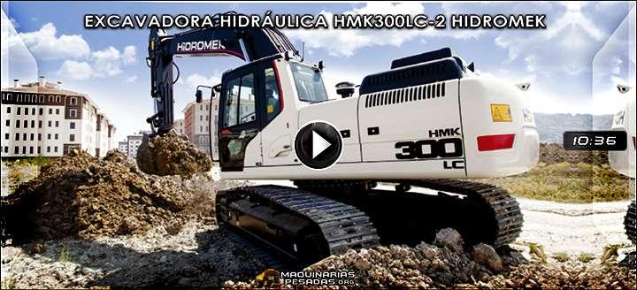 Vídeo de Excavadora Hidráulica HMK300LC-2 Hidromek - Características y Beneficios