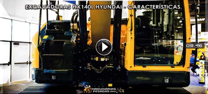 Vídeo de Excavadoras Hidráulicas HX140L Hyundai - Características y Beneficios