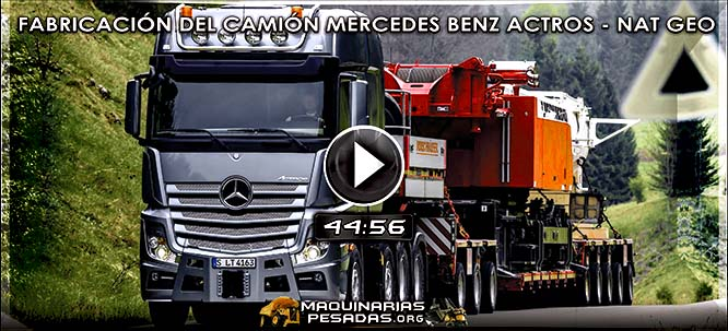 Vídeo de Fabricación del Camión Mercedes Benz Actros - Documental Net Geo