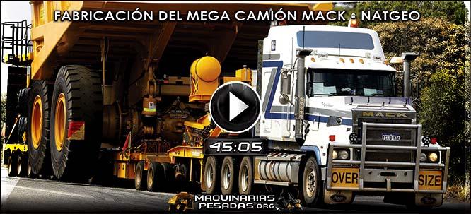 Vídeo de Fabricación del Mega Camión Titan Mack - Documental Net Geo