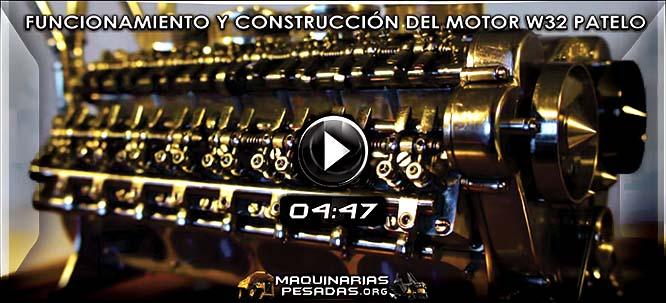 Vídeo del Funcionamiento del Motor W32 en Miniatura y su Construcción