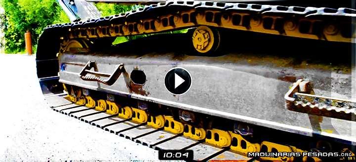 Vídeo de Inspección y Medición del Tren de Rodaje de Excavadoras Volvo – Elementos