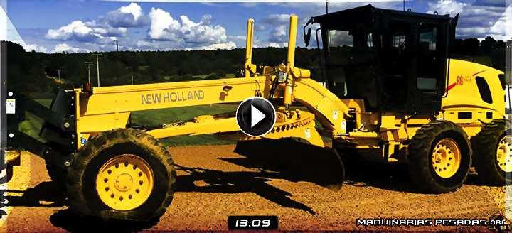 Vídeo de Inspección Pre Operacional de la Motoniveladora RG140B New Holland
