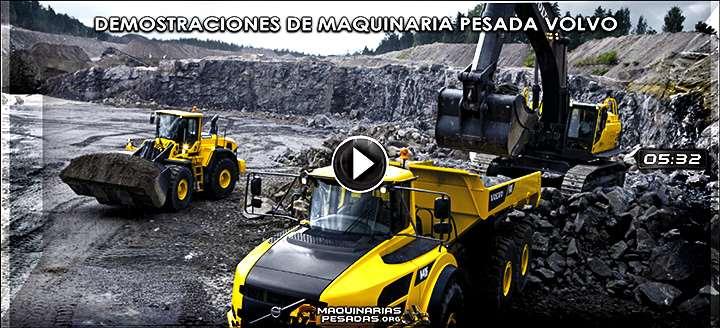 Vídeo de Maquinaria Pesada Volvo – Pruebas y Demostraciones