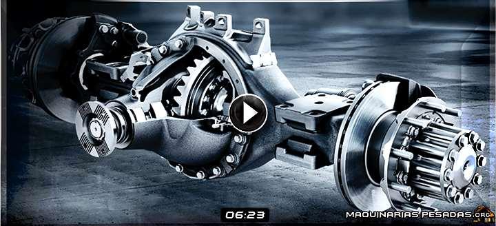 Vídeo: Mecanismo Diferencial del Camión Mercedes-Benz Actros - Funcionamiento