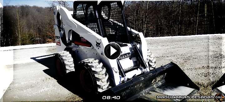 Vídeo de Minicargador S250 Bobcat – Controles de Operación y Funciones