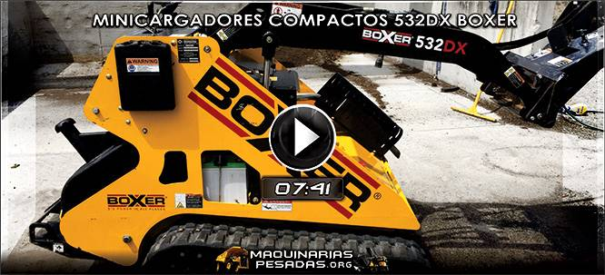 Vídeo de Minicargadores Compactos 532DX Boxer – Beneficios y Características