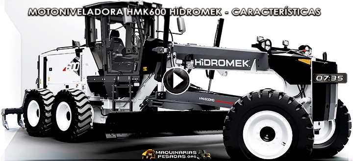 Vídeo de Motoniveladora HMK600 Hidromek - Características y Beneficios