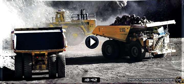 Vídeo: Operaciones Mineras en una Mina a Cielo Abierto - Proceso de Producción