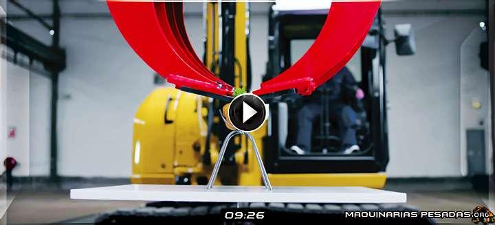 Vídeo de Pruebas de Destreza y Precisión en la Operación de Maquinaria Pesada