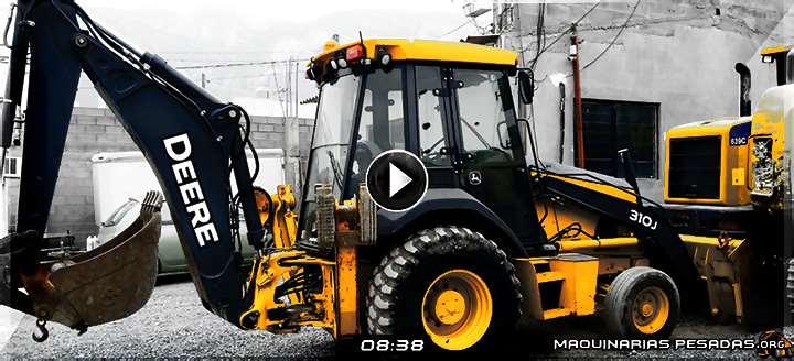 Vídeo de Retroexcavadora 310J John Deere – Controles de Operación e Inspección