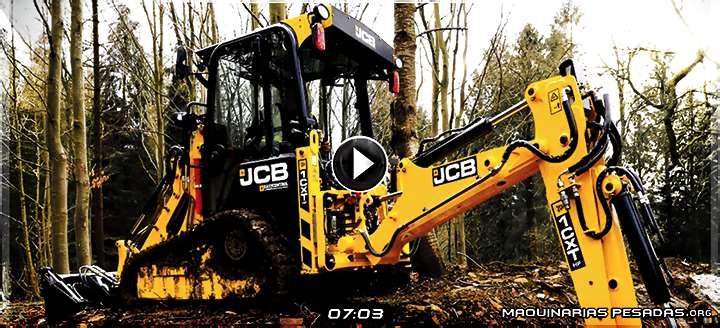Vídeo de Retroexcavadora de Orugas Compacta 1CXT JCB – Características