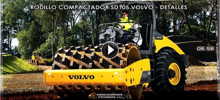 Vídeo de Rodillo Compactador SD105 Volvo – Características, Ventajas y Beneficios