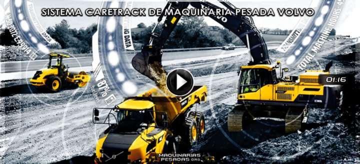 Vídeo de Sistema CareTrack de Maquinaria Pesada Volvo – Características