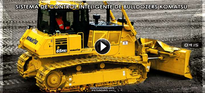 Vídeo del Sistema de Control Inteligente de Bulldozers Komatsu – Características
