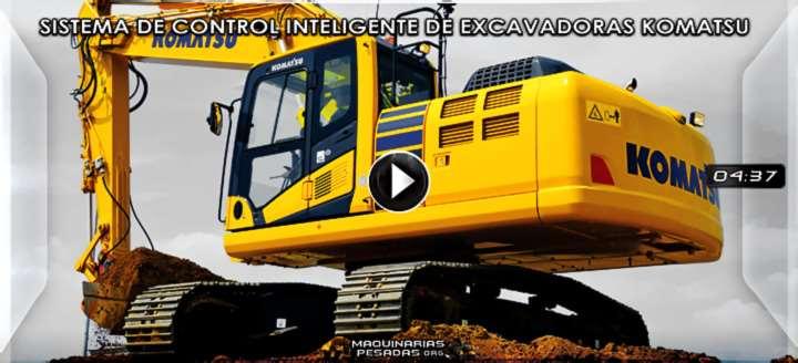 Vídeo del Sistema de Control Inteligente de Excavadoras Komatsu – Características