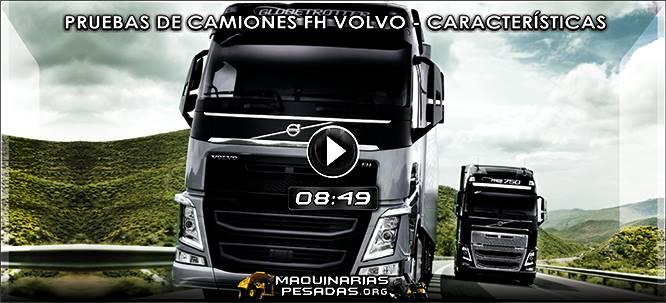 Vídeo de Test y Pruebas de Camiones FH Volvo - Beneficios y Características