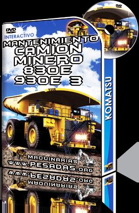 Curso Interactivo de Mantenimiento de Camión Minero 830E – 930E 3 Komatsu