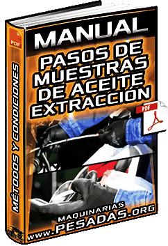 Manual: Pasos de Muestras de Aceite - Extracción, Métodos, Muestras y Condiciones