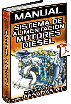 Manual: Sistema de Alimentación de Motores Diésel - Circuitos, Bombas e Inyección