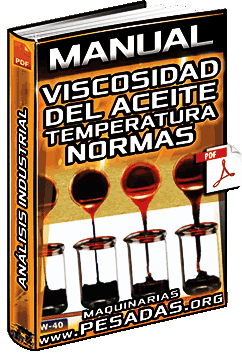 Viscosidad del Aceite - Temperatura, Normas SAE J300, J306, DIN 51519 y Representación