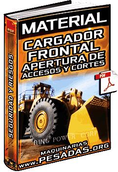 Material: Apertura de Accesos y Cortes con Cargadores Frontales en Mina – Etapas