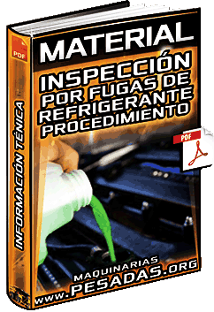Material: Inspección por Fugas de Refrigerante 3500 - Procedimiento y Diagnóstico