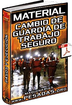 Material: Cambio de Guardia – Procedimiento de Trabajo Seguro y Ejecución