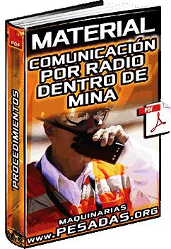 Material: Comunicación por Radio Dentro de Mina – Procedimiento de Trabajo Seguro
