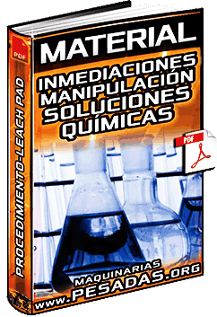 Material: Inmediaciones Donde se Manipula Soluciones Químicas – Procedimientos