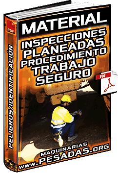 Material: Inspecciones Planeadas – Procedimiento de Trabajo Seguro y Peligros