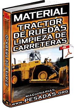 Material: Limpieza de Carreteras con Tractor de Ruedas – Etapas, Trabajo y Riesgos