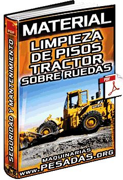 Material de Limpieza de Pisos con Tractor de Neumáticos – Verificación y Ejecución