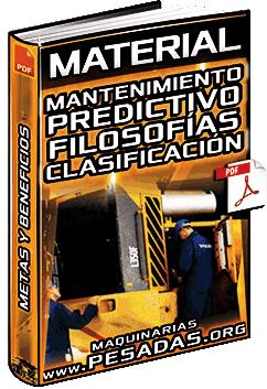 Material: Mantenimiento Predictivo – Filosofías, Clasificación de Maquinaria y Beneficios