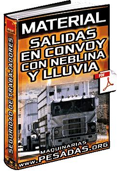 Material: Salidas en Convoy en Neblina y Lluvia – Seguridad, Verificación y Ejecución