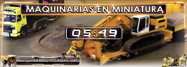 Camiones Volquetes Tráilers Excavadoras en Miniatura