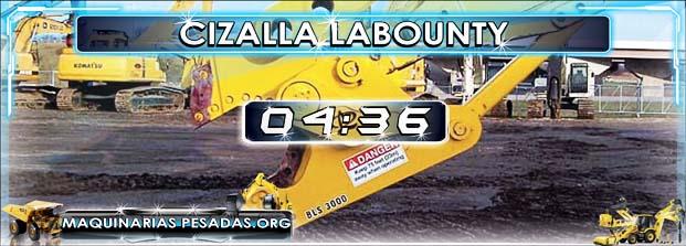 Equipo de Demolición – Cizalla Labounty a Oruga
