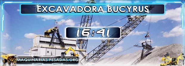 Excavadora de cable BUCYRUS 2570 WS