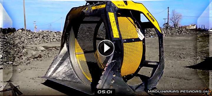 Vídeo de Cucharones Trituradores y Cribadoras MB Crusher para Excavadoras