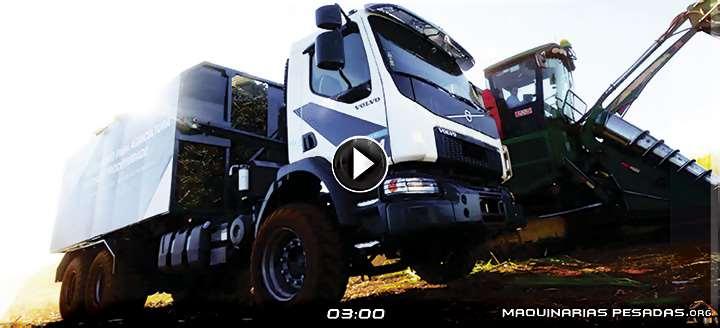 Vídeo de Exhibición del Camión Volvo VM Autónomo para Aplicaciones de Agricultura