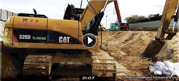 Vídeo de Inspección y Revisión de la Excavadora Hidráulica 320D – Pre Operacional